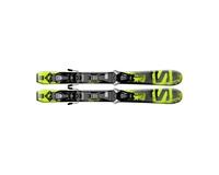 Горные лыжи Salomon Q-Max Jr XS + крепления EZY5 (14/15)