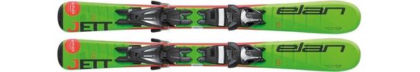 Горные лыжи Elan Jett QT + крепления EL 4.5 (70-100) (16/17)