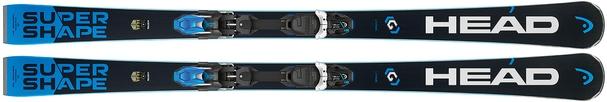 Горные лыжи Head i.Supershape Titan (163, 170) + крепления PRD 12 (17/18)