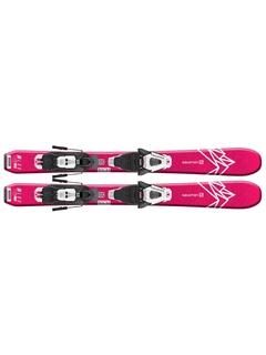 Горные лыжи Salomon QST Lux Jr XS+ крепления C5 GW