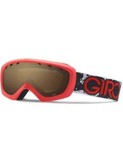 Детская маска Giro Chico Red / Black Camo / Amber Rose 40