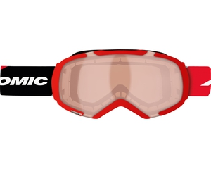 Маска Atomic Revel3 M RACING Red / Red ML + Orange