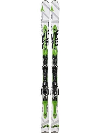 Горные лыжи с креплениями Atomic D2 VF 75 white + NEOX TL 12 12/13
