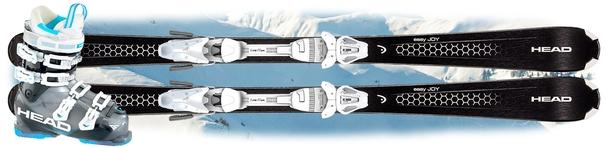 Горнолыжный комплект Head Easy Joy + крепления Joy 9 AC SLR + Head Adapt Edge 85 W