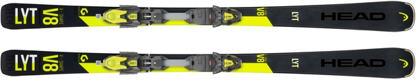 Горные лыжи Head V-Shape V8 + крепления PR 11 (19/20)