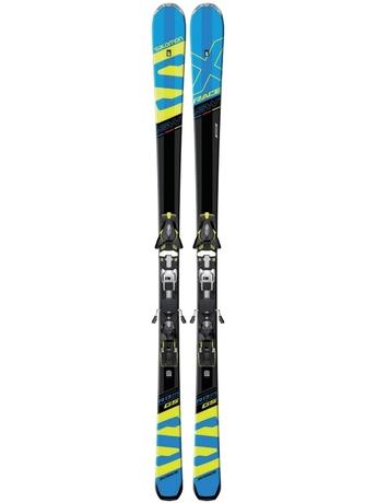 Горные лыжи Salomon X-Race SW + крепления Z12 Speed 16/17
