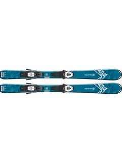 Горные лыжи Salomon QST Max Jr XS + крепления C5 GW