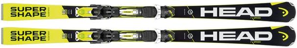Горные лыжи Head i.Supershape Speed (170) + крепления PRX 12 (16/17)