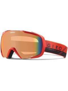 Маска Giro Onset Red/Black Slash / Persimmon Blaze 50