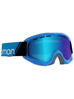 Детская маска Salomon Juke Blue / Mid Blue