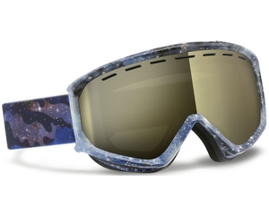 Маска Scott Level Cosmic Camo Blue / Gold Chrome