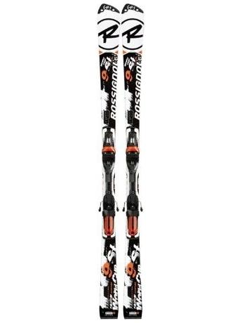 Горные лыжи с креплениями Rossignol R.9 SL SlantNose Ti TPX + AXIAL 120S TPI - SOLAR 12/13