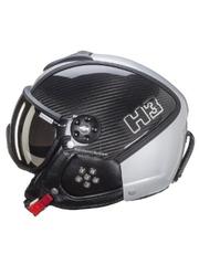 Горнолыжный шлем с визором HMR H3 Carbon Kevlar