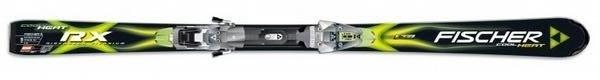 Горные лыжи Fischer RX Cool Heat + крепления FX12 RAILFLEX 2 (07/08)