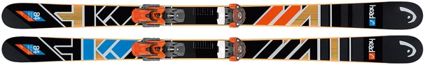 Горные лыжи Head The Caddy + крепления Attack 13 (16/17)
