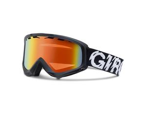 Маска Giro Station Black Static/ Persimmon Blaze 50-60
