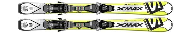 Горные лыжи Salomon X-Max Jr S + EZY5 (16/17)