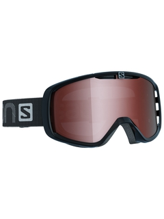 Маска Salomon Aksium Access Black / Tonic Orange Flash