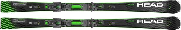 Горные лыжи Head Supershape e-Magnum + крепления PRD 12 (20/21)