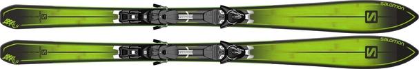 Горные лыжи Salomon BBR 8.0 (179) + крепления KZ10 (14/15)