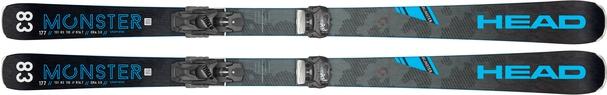 Горные лыжи Head Monster 83 Ti + крепления Attack2 13 (19/20)