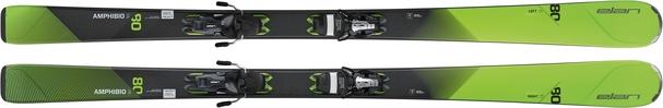 Горные лыжи Elan Amphibio 80 Ti PS + крепления ELS 11 (16/17)