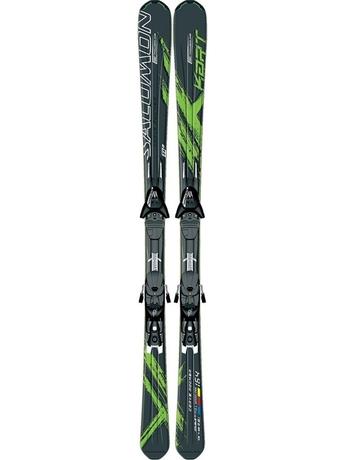 Горные лыжи с креплениями Salomon X-Kart + KZ12 B75 Bk/Gr 11/12