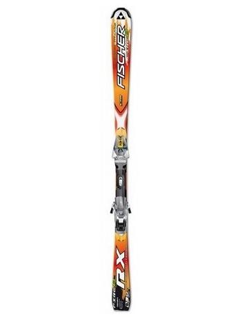 Горные лыжи Fischer RX 8 Fire FTI + крепления FX12 RAILFLEX 2 07/08