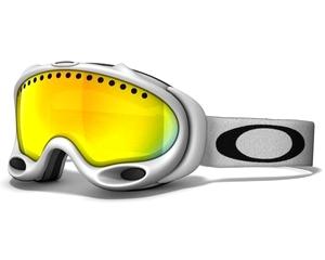 Маска Oakley A-Frame Matte White / Fire Iridium