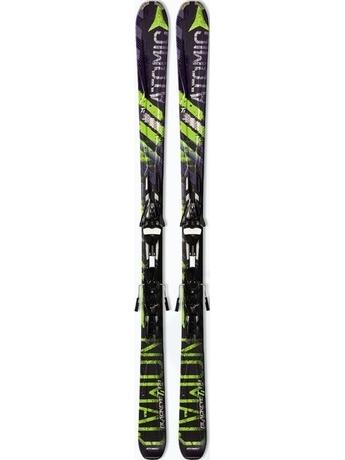 Горные лыжи Atomic Blackeye Ti + крепления XTO 14 Sport 10/11