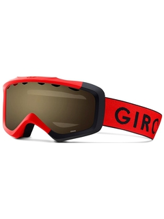 Детская маска Giro Grade Red Black Zoom / Amber Scarlet 40
