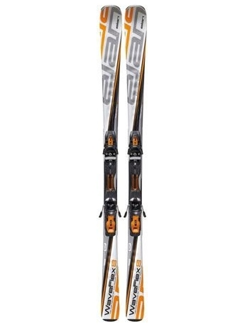 Горные лыжи с креплениями Elan Waveflex 8 PST Orange QT + EL 10.0 11/12