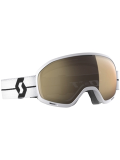Маска Scott Unlimited II OTG LS White Black / Light Sensitive Bronze Chrome