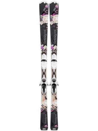 Горные лыжи с креплениями Rossignol Attraxion 1 W + Xelium SAPHIR 100 S Wht Black 12/13