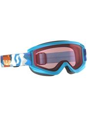 Детская маска Scott Agent Jr Blue / Enhancer