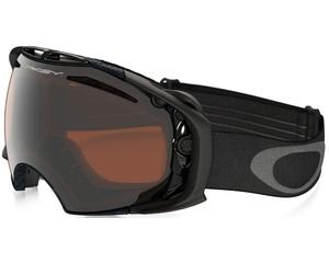 Маска Oakley Airbrake Matte Carbon Fiber w / Black Iridium & Persimmon