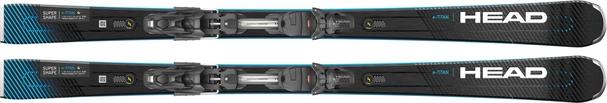 Горные лыжи Head Supershape e-Titan + крепления PRD 12 GW (21/22)