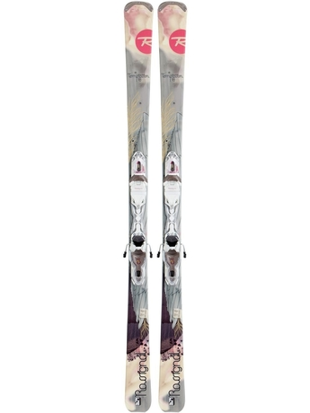Горные лыжи с креплениями Rossignol Temptation 78 W + Xelium SAPHIR 110 L Bronze Wht 12/13