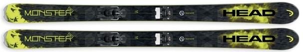 Горные лыжи Head Monster 98 + крепления Attack 13 (16/17)