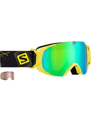 Маска Salomon XVIEW Xtra L Yellow / ML Green Solar