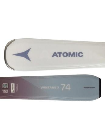 Горные лыжи Atomic Vantage X 74 R W + крепления Lithium 10 18/19