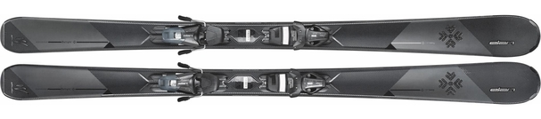 Горные лыжи Elan Delight Swarovski PS + крепления ELW 9.0 (16/17)