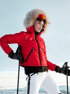 Куртка с мехом Goldbergh Ljot