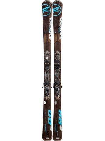 Горные лыжи с креплениями Rossignol Experience 88 TPX + AXM 120 L TPIDK Grey Brush 12/13