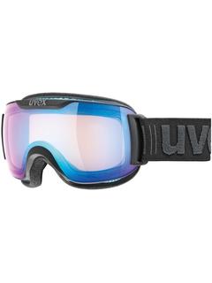 Маска Uvex Downhill 2000 S VFM Black Mat / Mirror Blue Variomatic® Clear