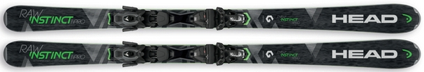 Горные лыжи Head Raw Instinct Ti Pro + крепления PRD 12 (17/18)