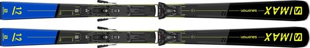 Горные лыжи Salomon S/Max 12 + крепления Z12 GW F80 21/22 (20/21)