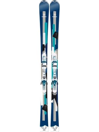 Горные лыжи Rossignol Unique 6 + Xelium Saphir 110 14/15