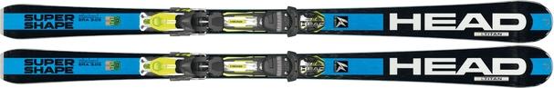 Горные лыжи Head i.Supershape Titan + крепления PRX 12 S (15/16)