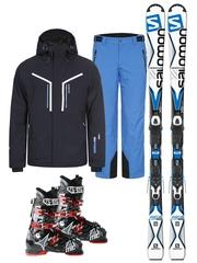 Комплект: куртка + брюки Icepeak Novak + лыжи X-Drive Focus + ботинки Hawx 1.0 80 Plus в подарок